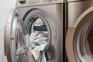 バスタオルと洗濯機